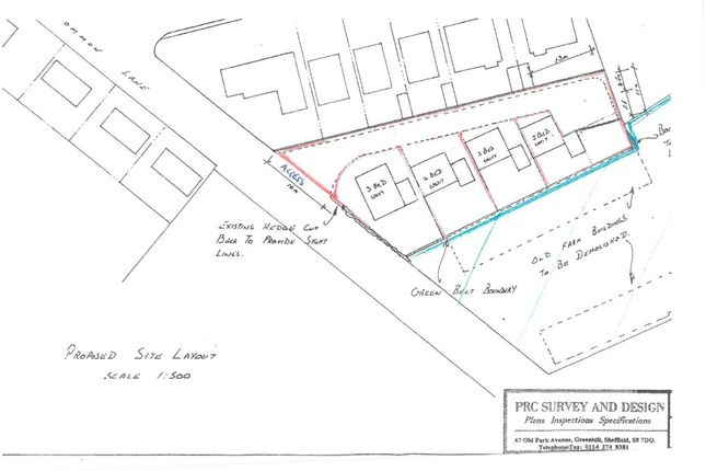 Thumbnail Land for sale in Former School Boy Farm Yard, Common Lane, Norton, Doncaster, South Yorkshire