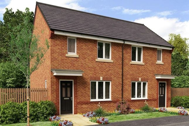 Thumbnail Town house for sale in School House Way, Chesterfield