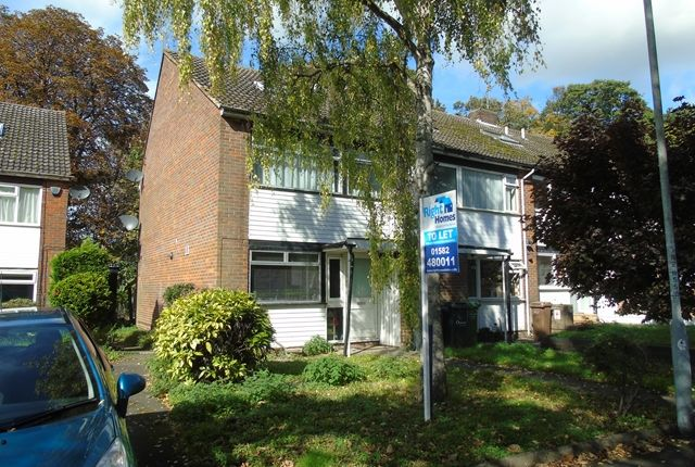 Thumbnail Semi-detached house to rent in Wensleydale, Luton