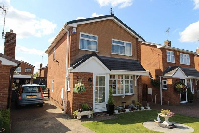 Thumbnail Detached house for sale in Argyle Close, Warsop, Mansfield