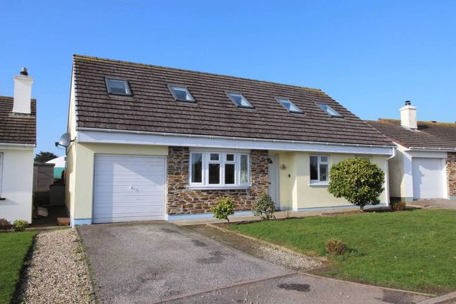 Thumbnail Detached bungalow for sale in Place Parc, Newquay