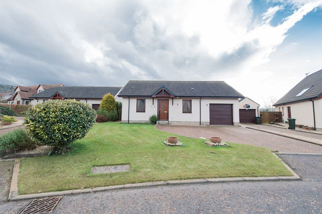 Thumbnail Detached bungalow for sale in The Glebe, Abernethy