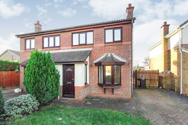 3 bed semi-detached house to rent in Sorrel Close, Ashington NE63