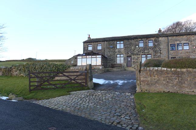 Thumbnail Farmhouse for sale in Braithwaite Edge Road, Keighley
