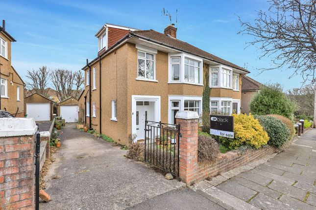 Thumbnail Semi-detached house for sale in Beatty Avenue, Roath Park, Cardiff