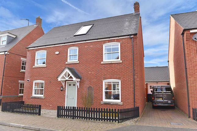 Thumbnail Detached house for sale in Reg Partridge Close, Duston, Northampton
