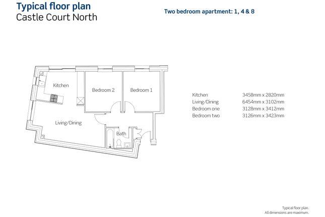 2 bedroom flat for sale in Jacob Street, Bristol