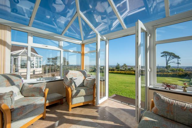 Conservatory of Hillhead Road, Kergilliack, Falmouth TR11
