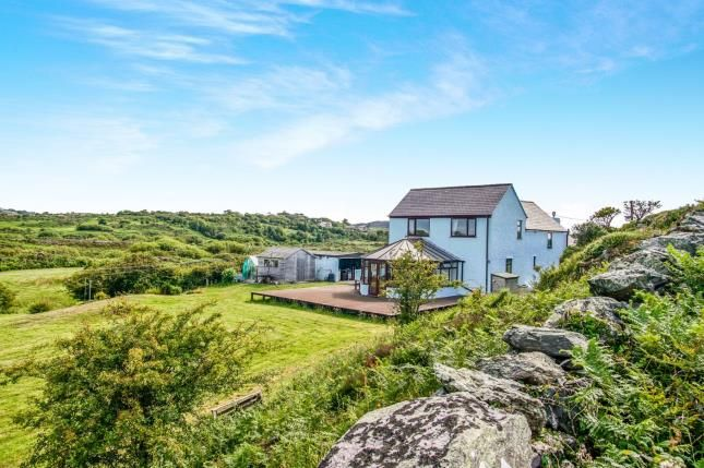 Thumbnail Detached house for sale in Llaneilian, Amlwch, Anglesey, Sir Ynys Mon