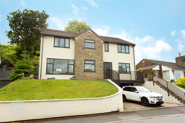 5 bed detached house for sale in Rising Bridge Road, Haslingden, Rossendale BB4