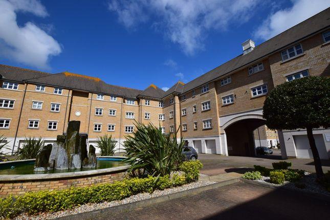 Courtyard of Trujillo Court, Callao Quay, Eastbourne BN23
