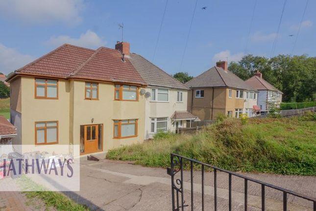 Thumbnail Semi-detached house for sale in Bassaleg Road, Newport