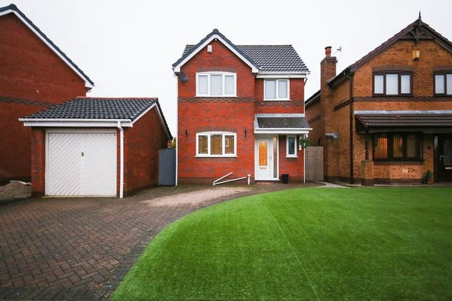 Thumbnail Detached house for sale in Newman Close, Hindley, Wigan