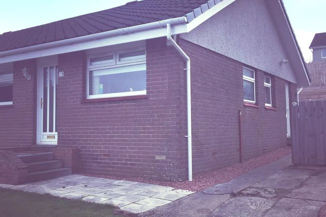 Thumbnail Semi-detached bungalow for sale in Strathleven Drive, Alexandria