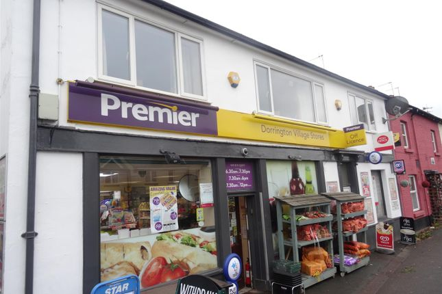 3 bed flat to rent in The Flat, The Village Stores, Main Road, Dorrington, Shrewsbury SY5