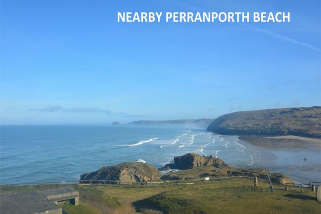 Thumbnail Flat for sale in Josephs Court, Perranporth, Cornwall