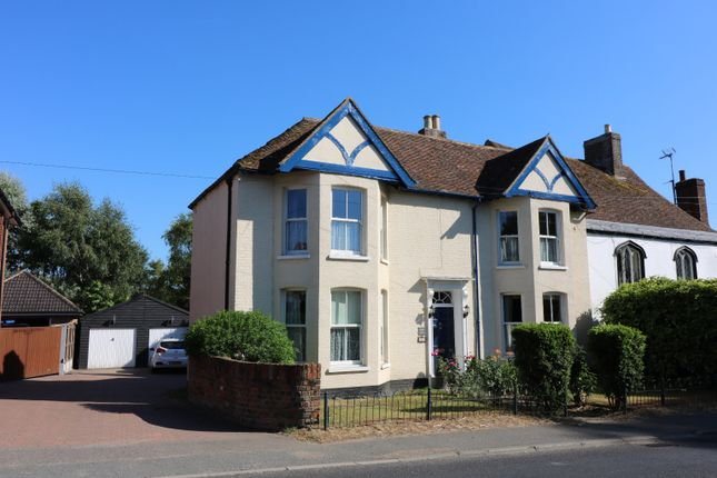 Thumbnail Semi-detached house for sale in High Street, Wingham, Canterbury