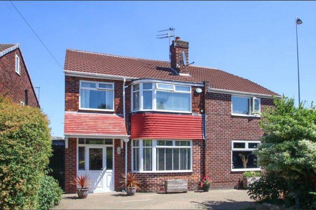 Thumbnail Detached house for sale in Dorchester Avenue, Urmston, Manchester