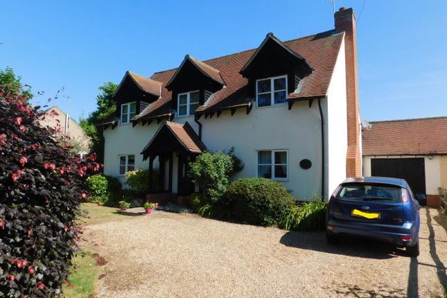 Thumbnail Detached house for sale in Forest Road, Onehouse, Stowmarket