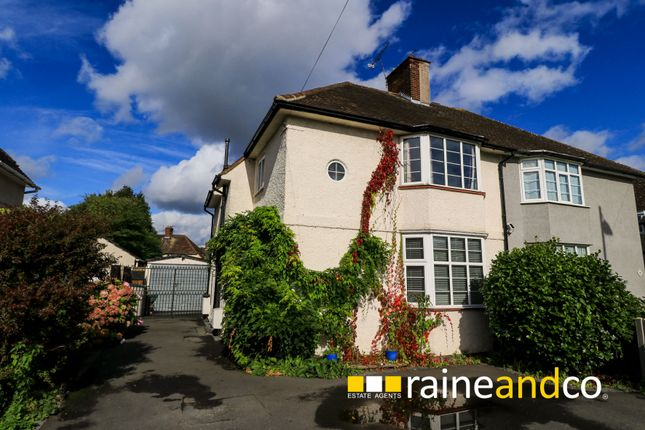Thumbnail Semi-detached house for sale in St Albans Road East, Hatfield