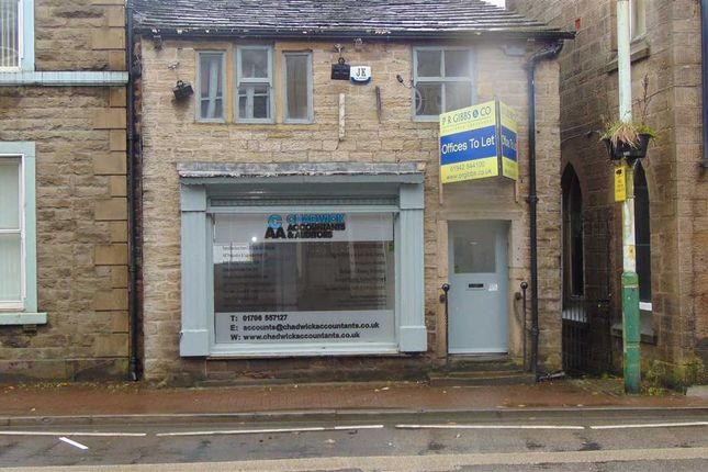 Commercial property for sale in Market Street, Bacup, Rossendale