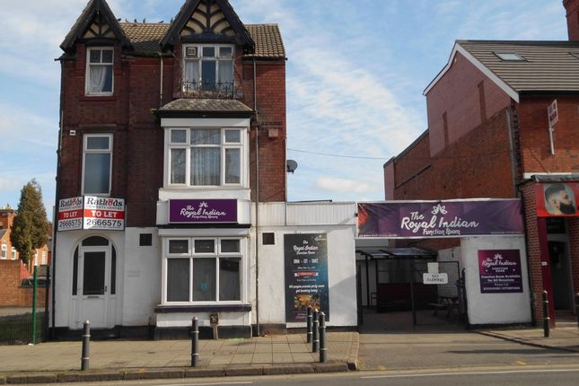 Thumbnail Restaurant/cafe to let in The Quadrant, Drummond Road, Belgrave, Leicester