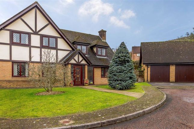 Thumbnail Detached house for sale in Oakleigh Court, Henllys, Cwmbran, Torfaen