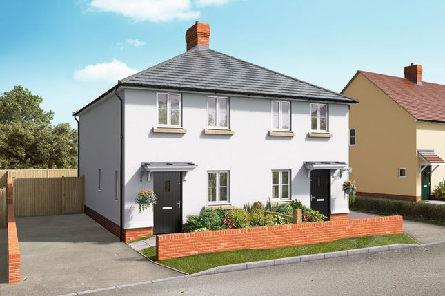 Thumbnail Semi-detached house for sale in School Lane, Broughton, Hampshire