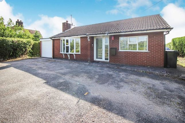 Thumbnail Detached bungalow for sale in Ladderedge, Leek, Staffordshire