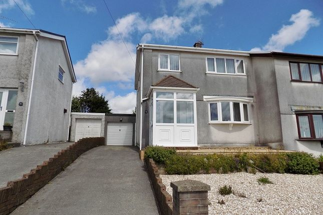 3 bed semi-detached house for sale in Glenview, Pen-Y-Fai, Bridgend . CF31