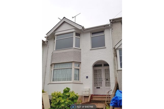 3 bed terraced house to rent in Clifton Grove, Paignton TQ3