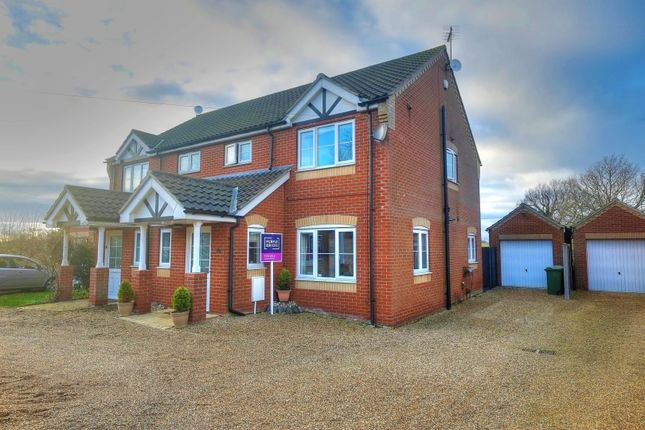 Thumbnail Semi-detached house for sale in Chapel Road, Beighton, Norwich