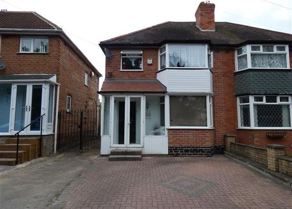 3 bed semi-detached house for sale in Coventry Road, Yardley, Birmingham