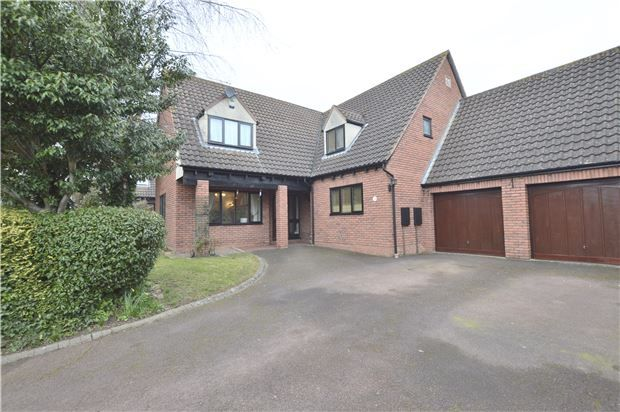 Thumbnail Detached house for sale in Newtown, Tewkesbury, Gloucestershire