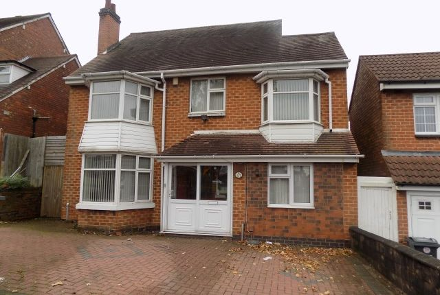 Thumbnail Detached house for sale in Sandwell Road, Handsworth, Birmingham