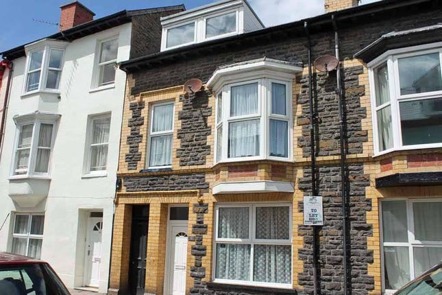 Thumbnail Town house for sale in Portland Road, Aberystwyth