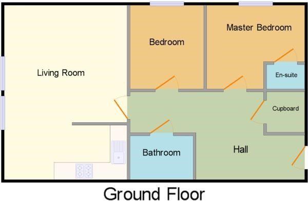 Floorplan of Berkeley Court, Berkeley Way, Worcester, Worcestershire WR4