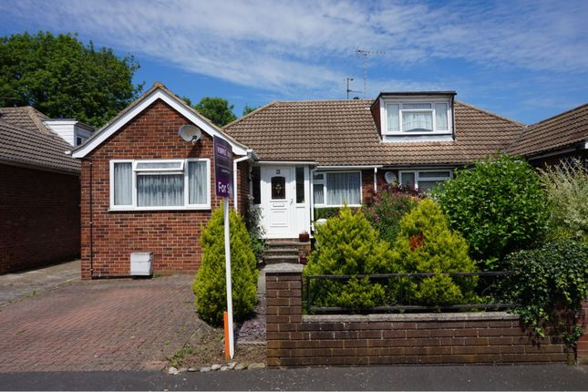 Thumbnail Semi-detached bungalow for sale in Weymead Close, Chertsey