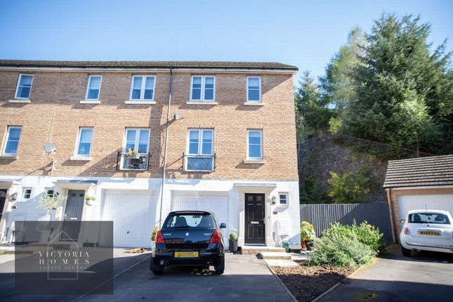 3 bed end terrace house for sale in Heol Cae Ffwrnais, Ebbw Vale NP23