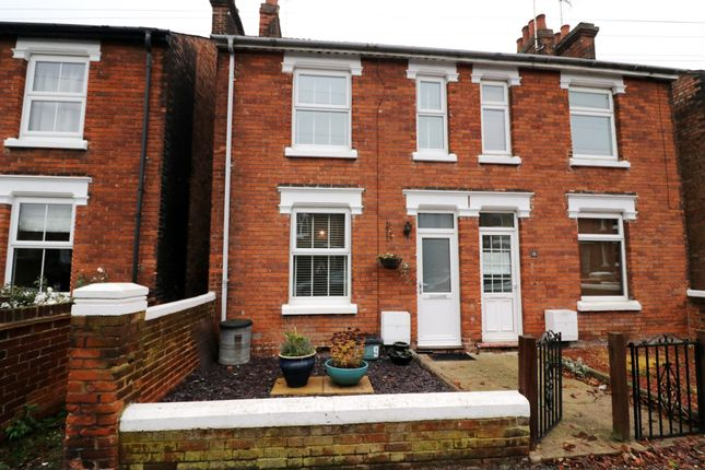 Thumbnail Semi-detached house for sale in Scarletts Road, Colchester