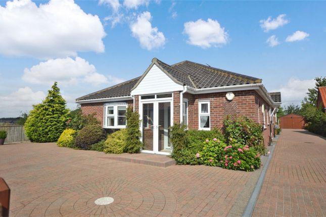 Thumbnail Detached bungalow for sale in Woodlands Court, Sparham, Norwich, Norfolk