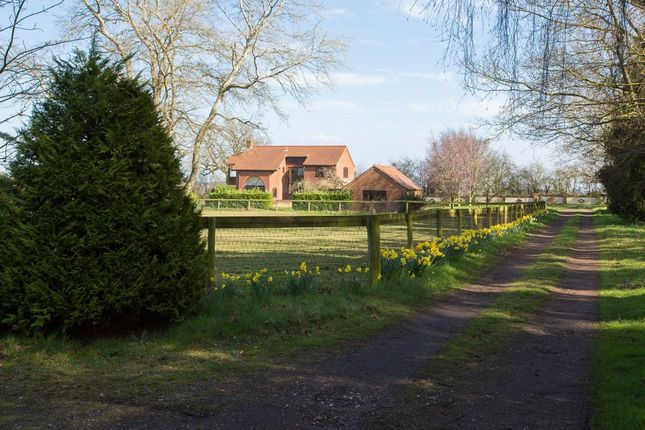 Thumbnail Farmhouse for sale in Fakenham Road, Great Witchingham, Norwich
