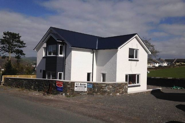 Thumbnail Detached house to rent in Trefaenor, Comins Coch, Aberystwyth