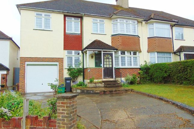 Thumbnail Semi-detached house for sale in Crossways, South Croydon, Surrey