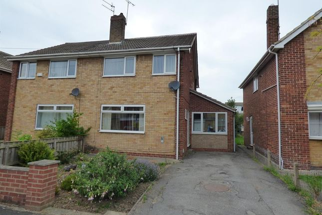Thumbnail Semi-detached house for sale in Highfield Road, Beverley