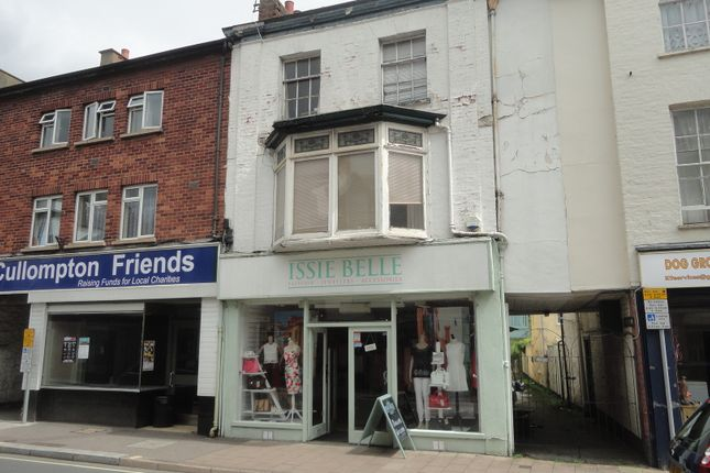 Thumbnail Retail premises for sale in Fore Street, Cullompton