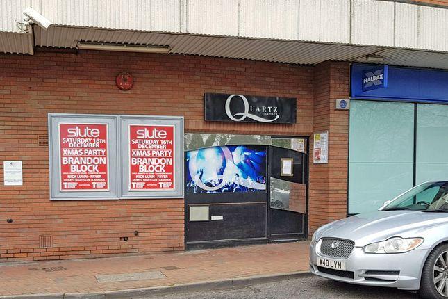 Restaurant/cafe to let in 3 Church Street, Market Hall Precinct, Cannock, Staffordshire