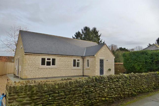 Thumbnail Detached bungalow for sale in Chapel Lane, Wymondham, Melton Mowbray