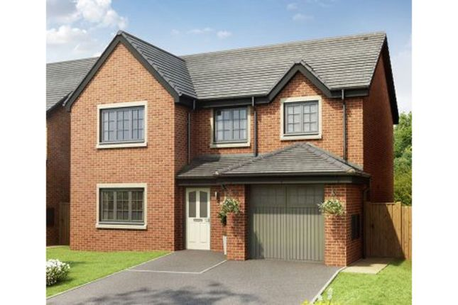 Thumbnail Detached house for sale in Kestrel Close, Congleton
