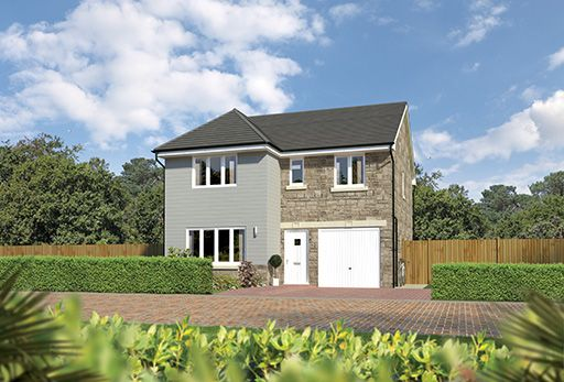 "Thumbnail Detached house for sale in ""Dukeswood"" at East Calder, Livingston"